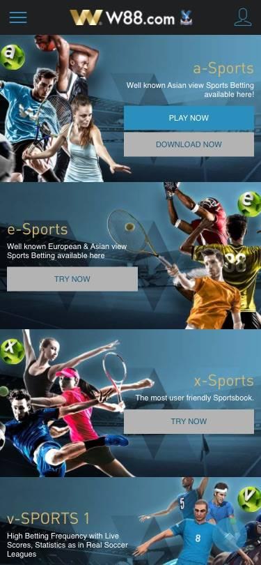 w88 mobile sport