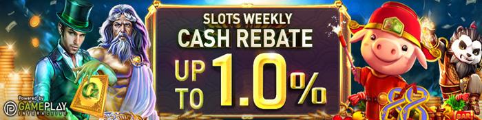1% slot rebate - W88