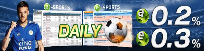 daily sports cash rebate - w88