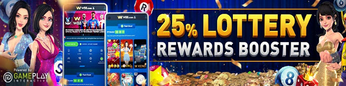 w88 - lottery rewards booster