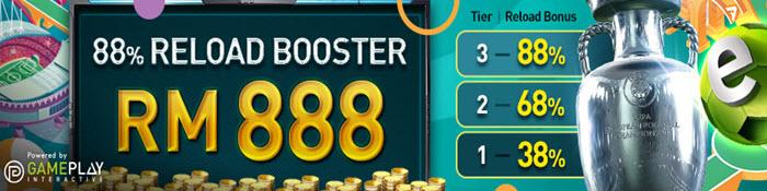 88 reload bonus - w88