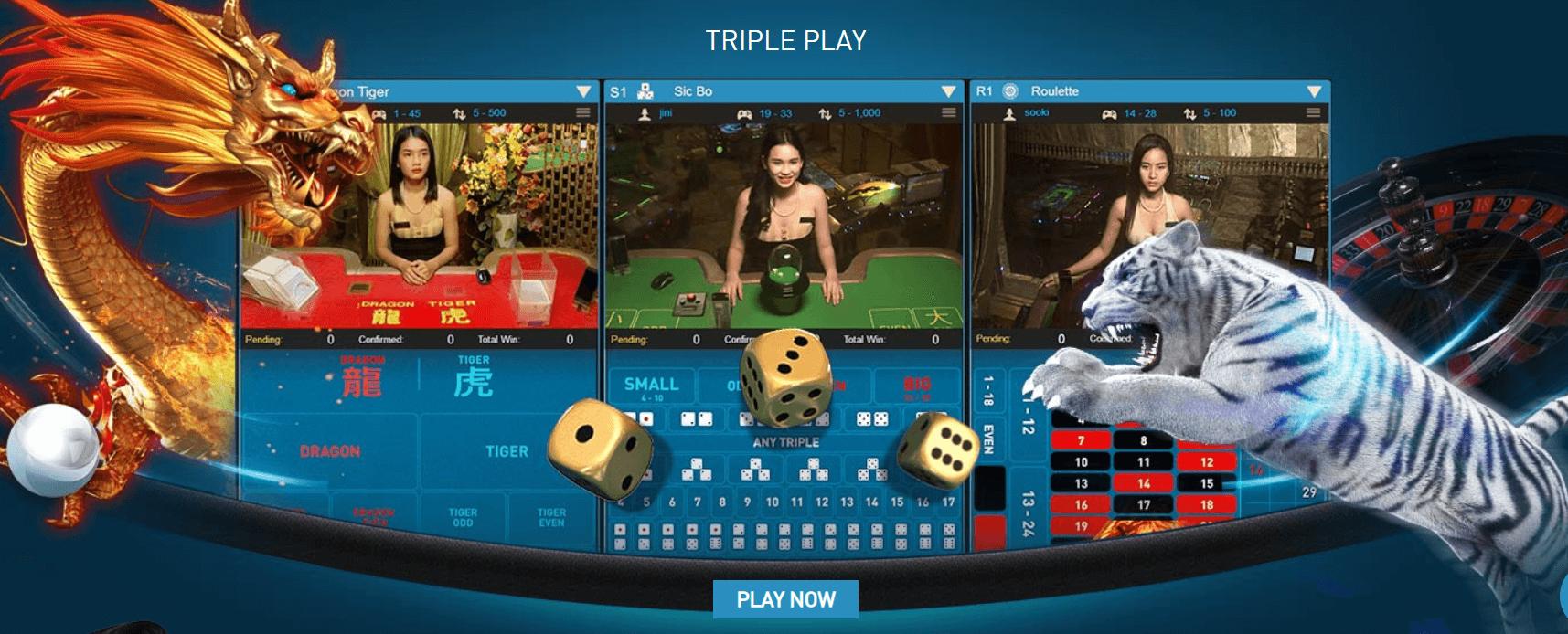 Live-casino-Triple-play