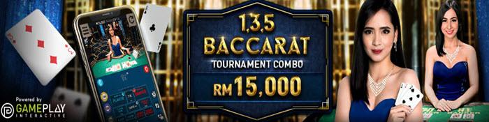 1, 3, 5 Baccarat - W88